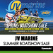 JV MARINE & BCF – SUMMER BOATSHOW SALE! October 13th to 15th 2017