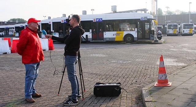 10/10 Antwerpen: De Lijn en NMBS // Foto's door Liesbeth