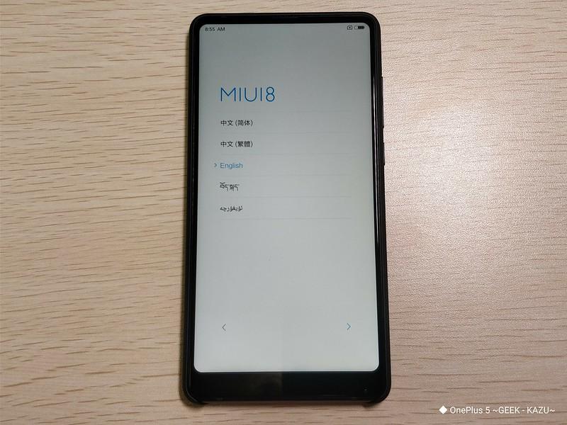 Xiaomi mi mix 2 開封レビュー (25)