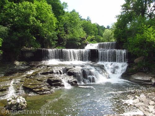 Seneca Mills Falls / Cascade Mills Falls between Penn Yan and Dresden, New York