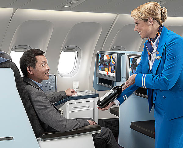 KLM Vinos World Business Class (KLM)