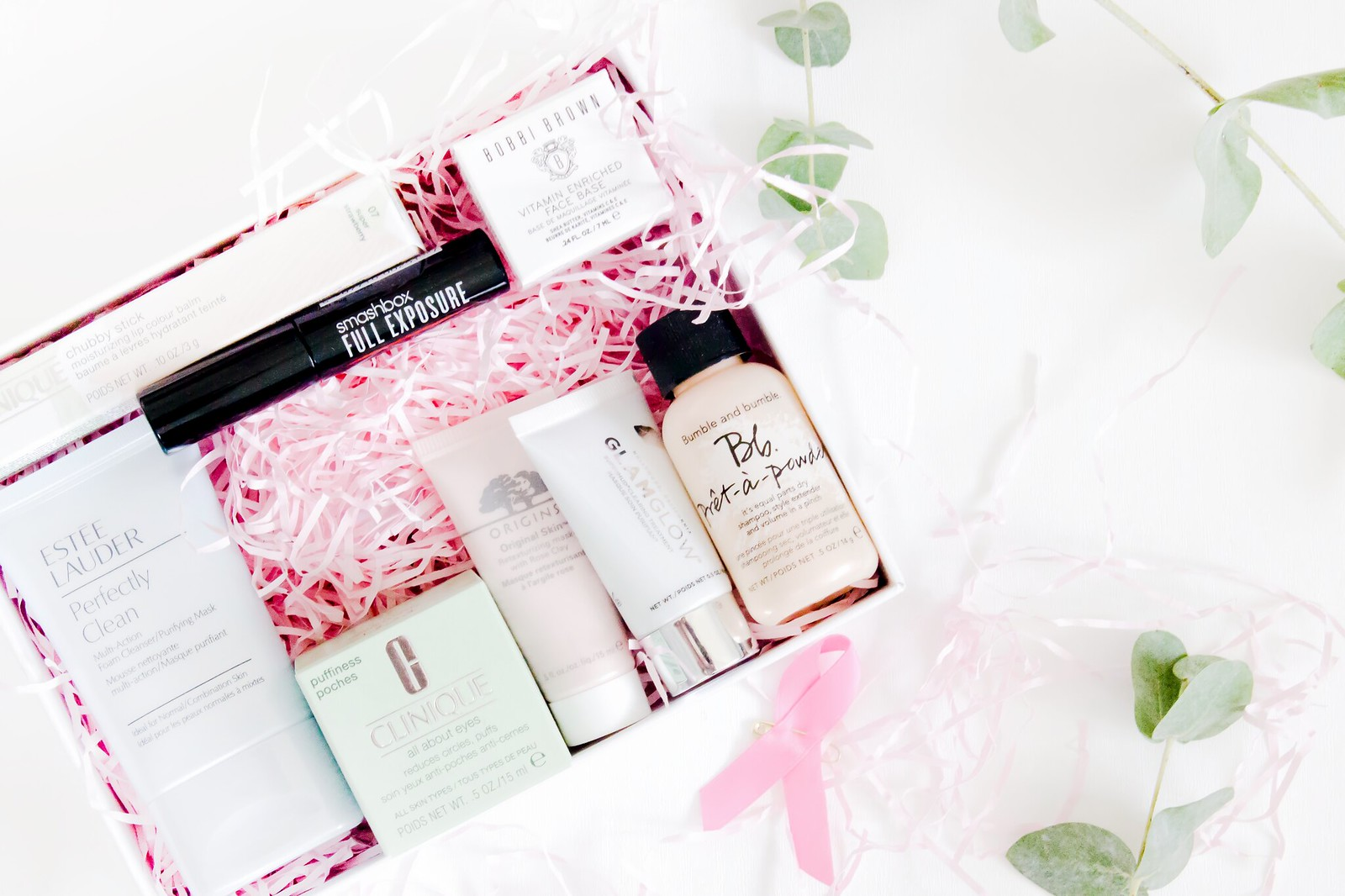 Estée Lauder Breast Cancer Campaign Beauty Box