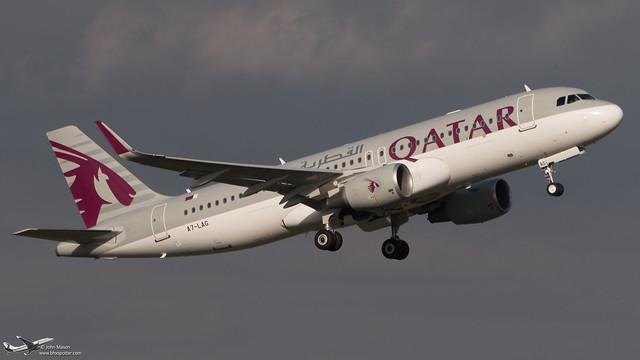 A7-LAG A320SL QTR