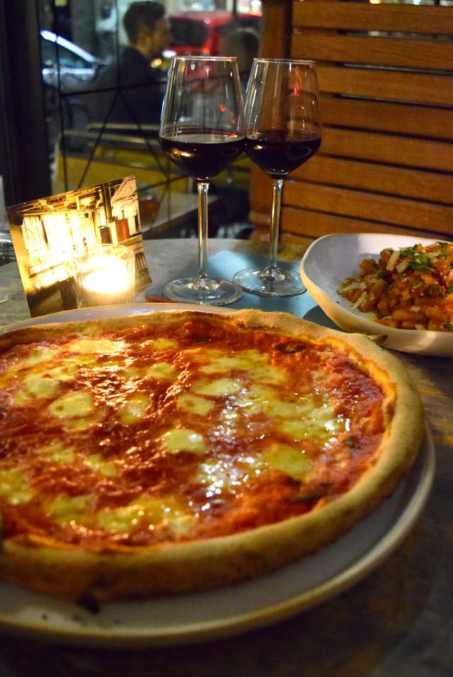 Pizza at Canova Hall, Brixton | www.rachelphipps.com @rachelphipps