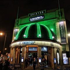 St Vincent @ Brixton Academy