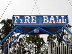 Fire Ball Sign.