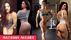 NATASHA AUGHEY Fitness & Strong Body Workout & Exercises Fitness Motivation