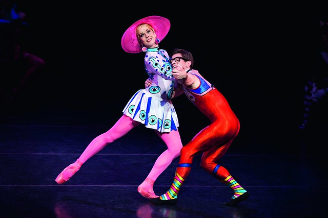 Laura McCulloch and Paul Kay in Elite Syncopations © ROH/Johan Persson, 2010