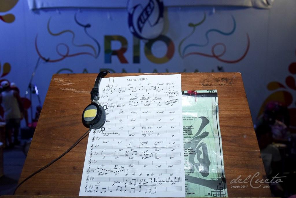 Mangueira 2018, gravação do samba