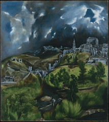 A View of Toledo by El Greco