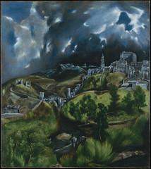 A View of Toledo by El Greco