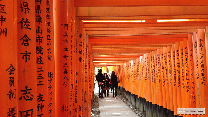 3 Hari Keliling Kyoto - Fushimi Inari Taisha