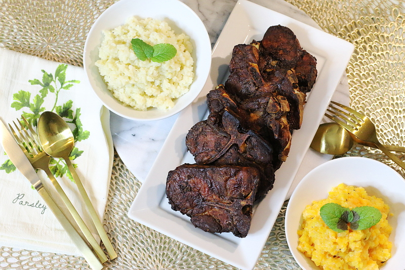 baked-broiled-pork-chops-cauliflower-rice-risotto-10