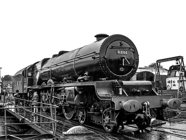 6201 'Princess Elizabeth', Tyseley