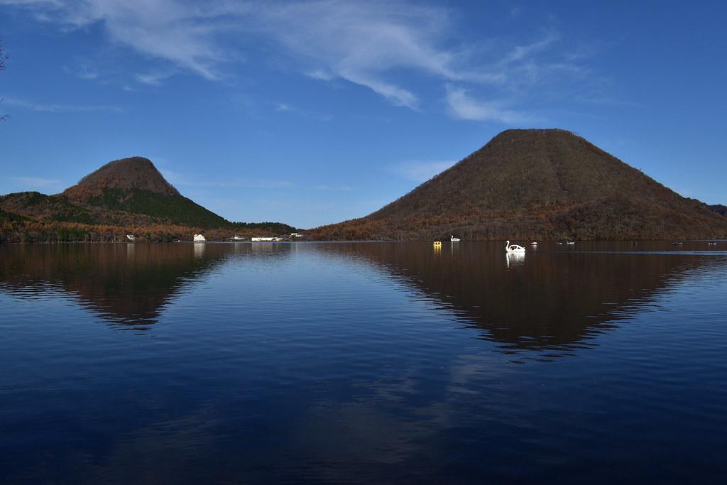榛名湖湖畔