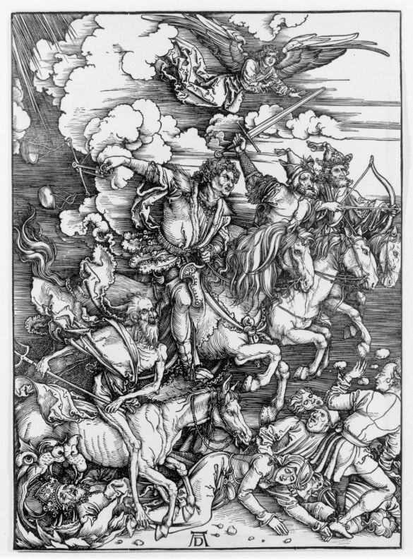 AlbrechtDürerTheFourHorsemenFromTheApocalypseWoordcut1498