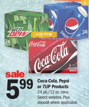 Great Deal on Pepsi