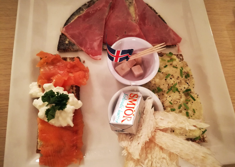 where to eat fermented shark in iceland dinner