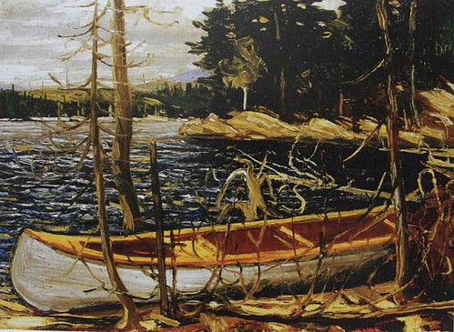 Tom-Thomson-The-Canoe