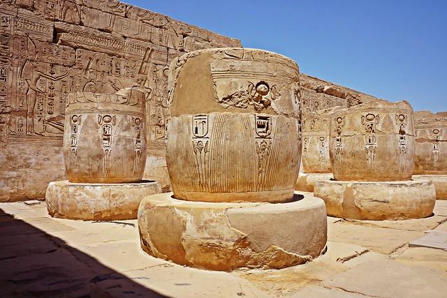 Luxor, Egypt - Medinet Habu - Temple of Ramses III