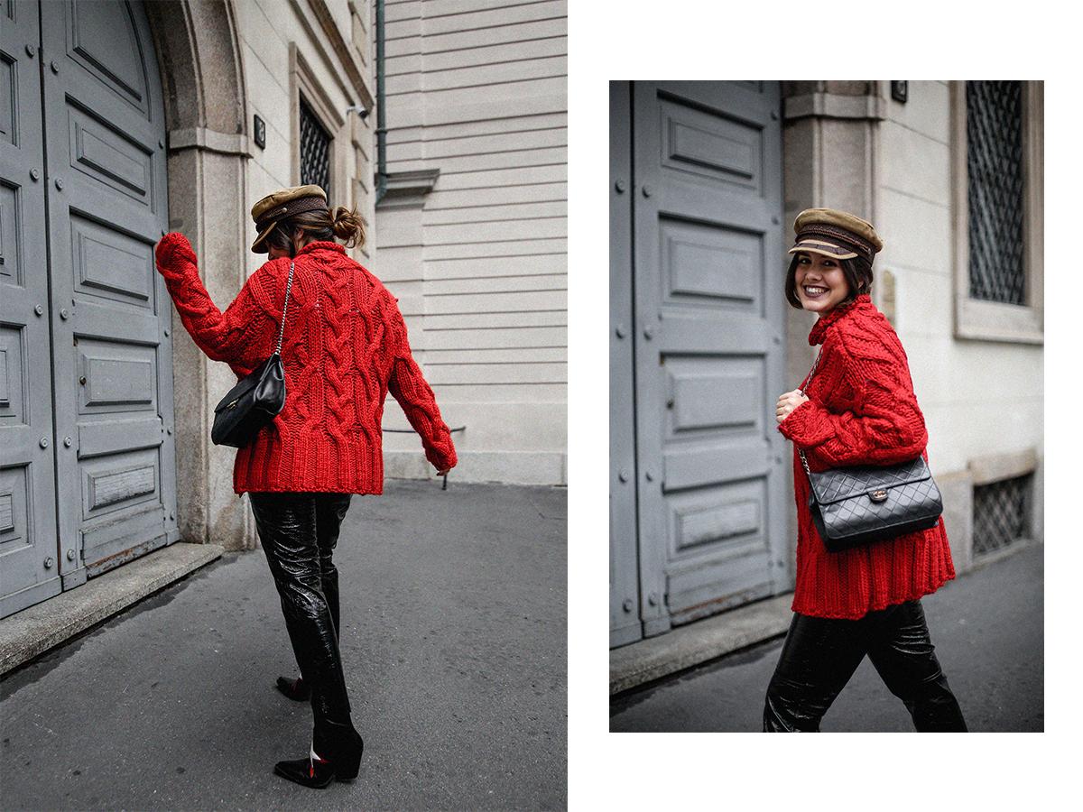 pantalones de charol look myblueberrynightsblog14