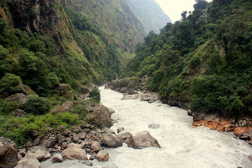J8 : 28 septembre 2017 : 2ème jour du trek : de Bahundanda (1310 m) à Tal (1700 m)