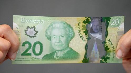 Bank of Canada $20 bill