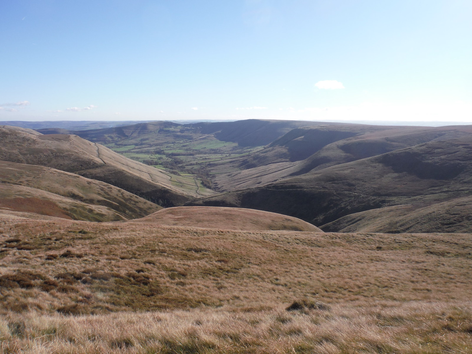 Vale of Edale SWC Walk 304 - Kinder Scout Circuit (from Edale)