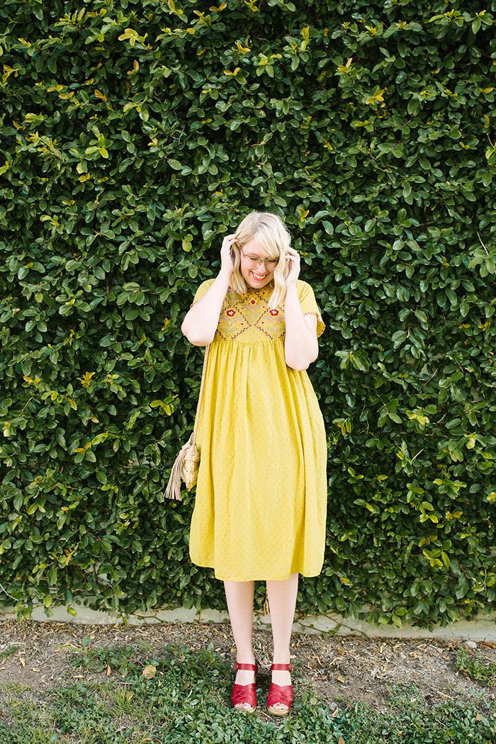austin fashion blogger writes like a girl yellow zara dress8