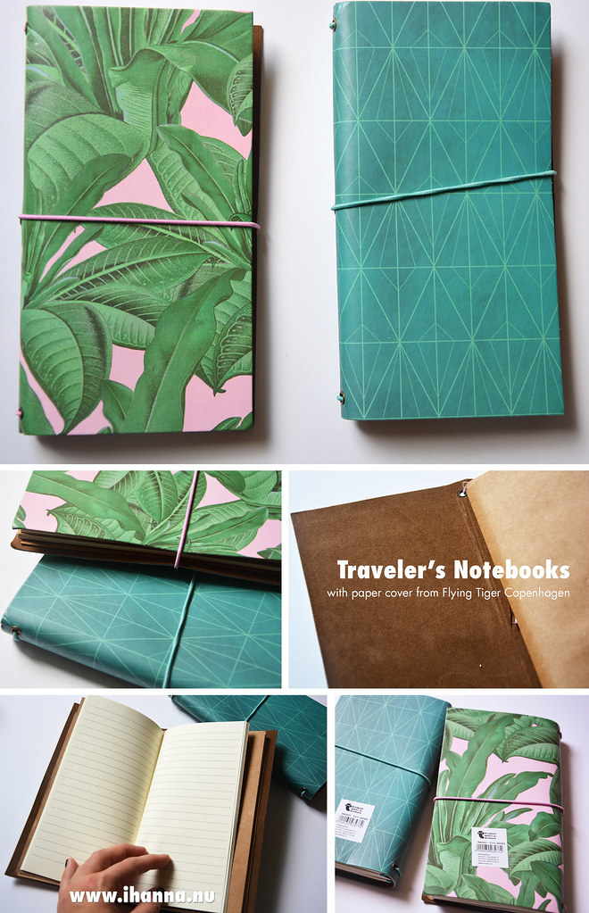Flying Tiger Traveler's Notebooks blogged by iHanna #flyingtiger #flyingtigercopenhagen