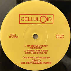 CHOCO THE NEW HARLEM SOUND:MY LITTLE DONKEY EP(LABEL SIDE-A)