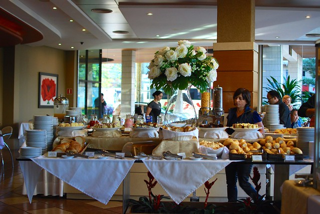 Breakfast Buffet at Hotel Continental Inn Foz do Iguacu