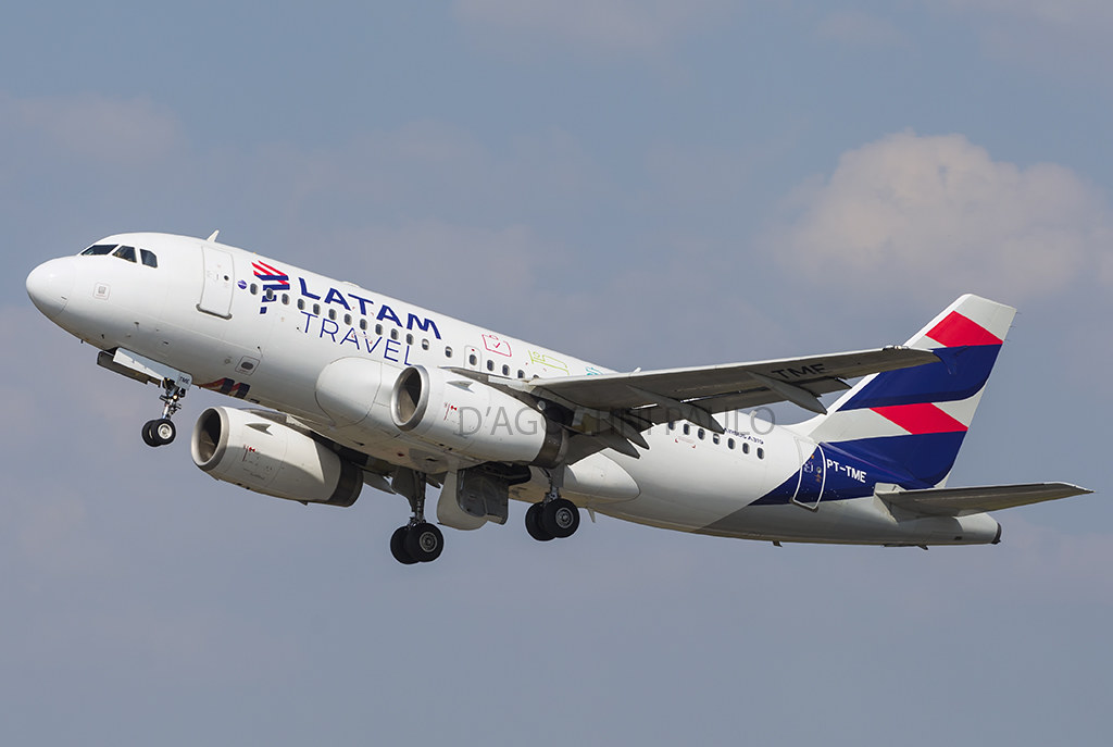 LATAM  TRAVEL- AIRBUS A319