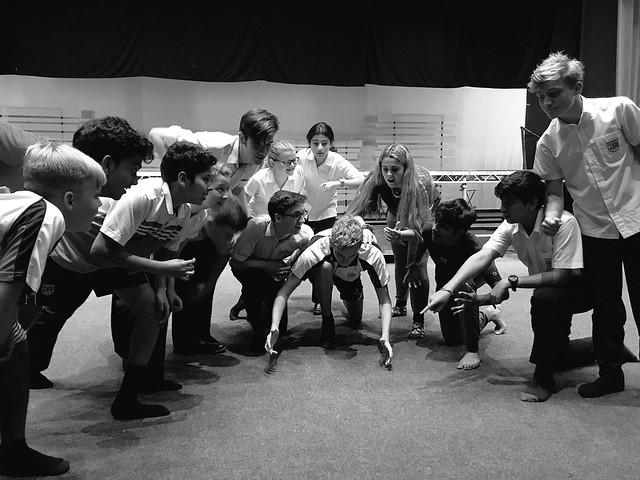 Rehearsing for Guys & Dolls