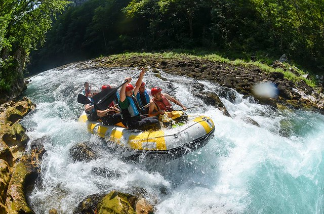 The best rafting in Bosnia