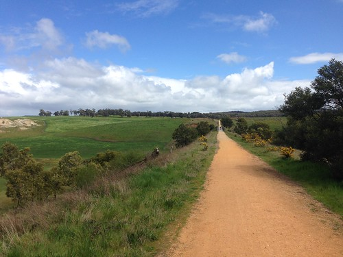 View at Nimmon's Bridge, Ballarat-Skipton Rail Trail