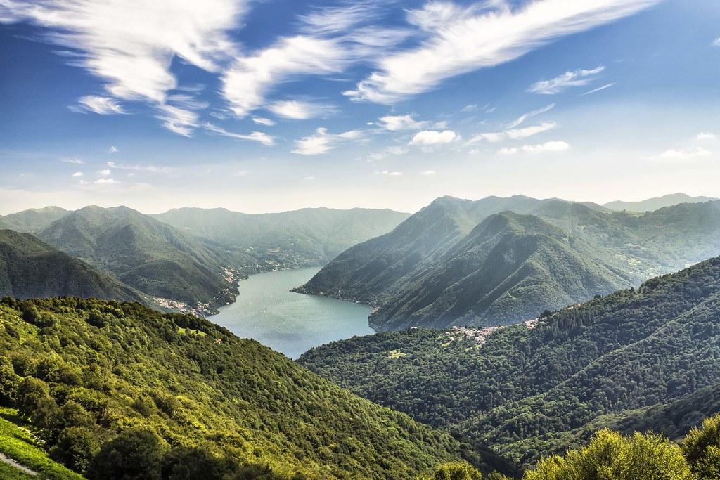 Alrededores del Lago de Como
