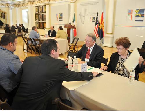 Reunion Interplenaria de la Comisión Sonora-Arizona Y Arizona-México