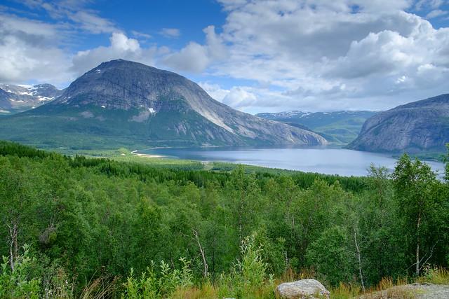 Fahrt nach Narvik August 2017