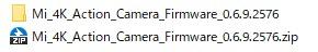 Xiaomi mijia camera ファームウェアアップデート方法 (1)