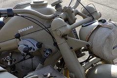 Zündapp 750 mit Beiwagen (Wehrmachtsmotorrad)
