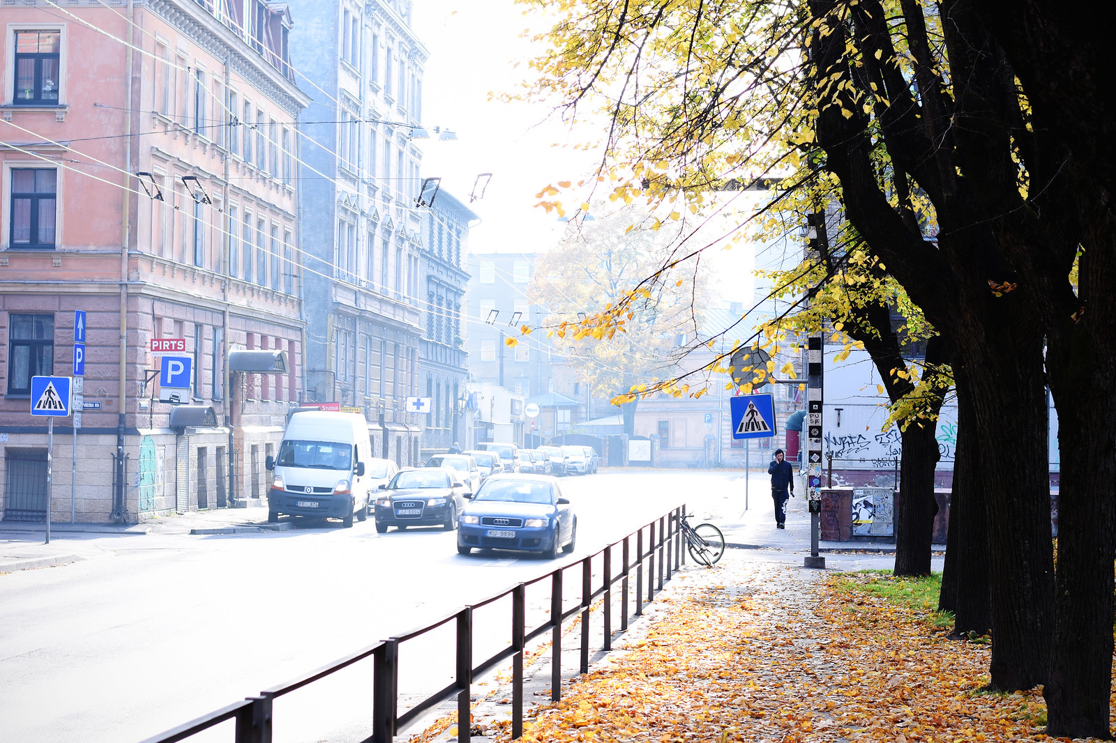 Riga in fall