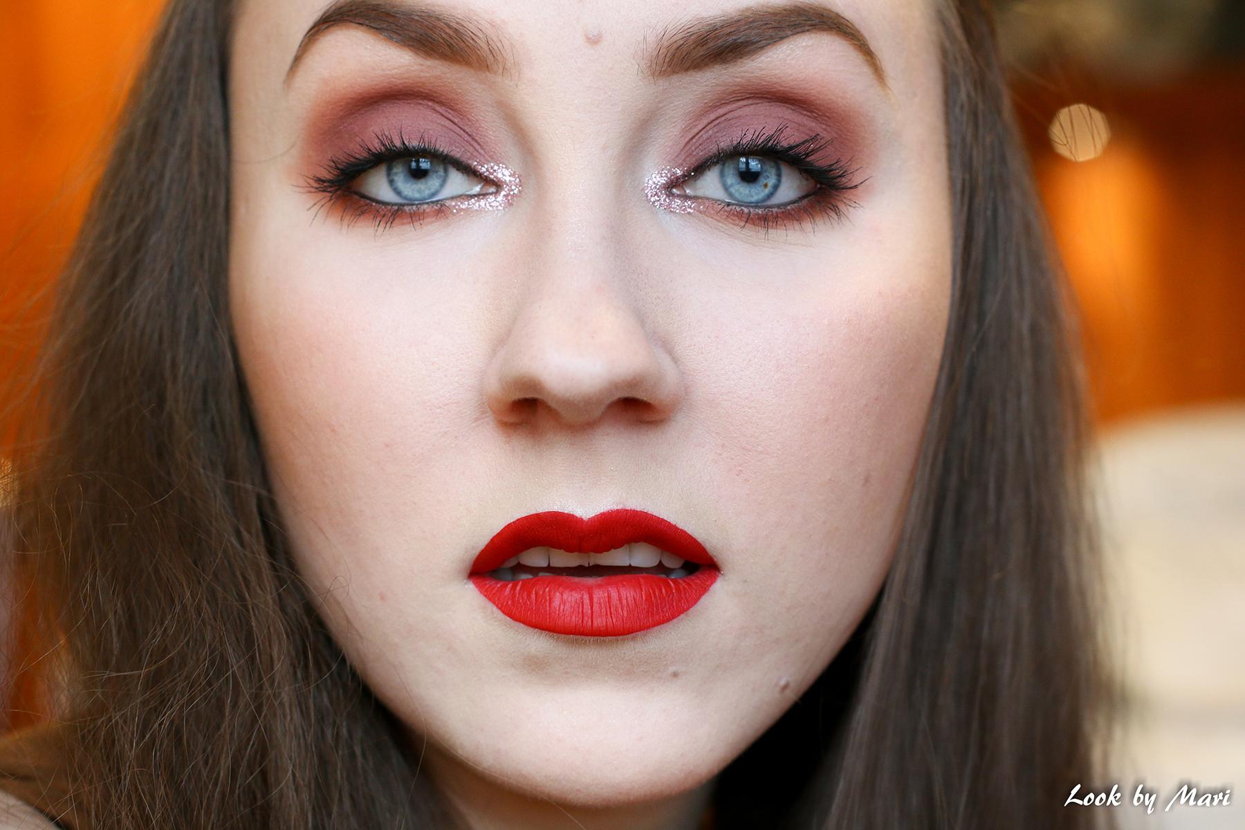 13 jeffree star velour liquid lipstick redrum kokemuksia sävy väri oletkaunis.fi