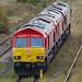 Class 66 66124 & 66136 & 66221 DB Cargo_9220146