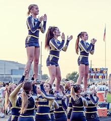 High school football: cheerleaders