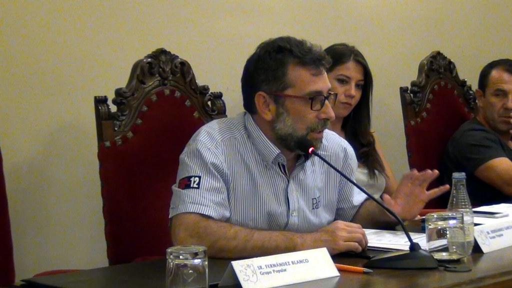 El Abanderado de San Juan 2017 dio a conocer, en el pleno, las cuentas de las fiestas de San Juan