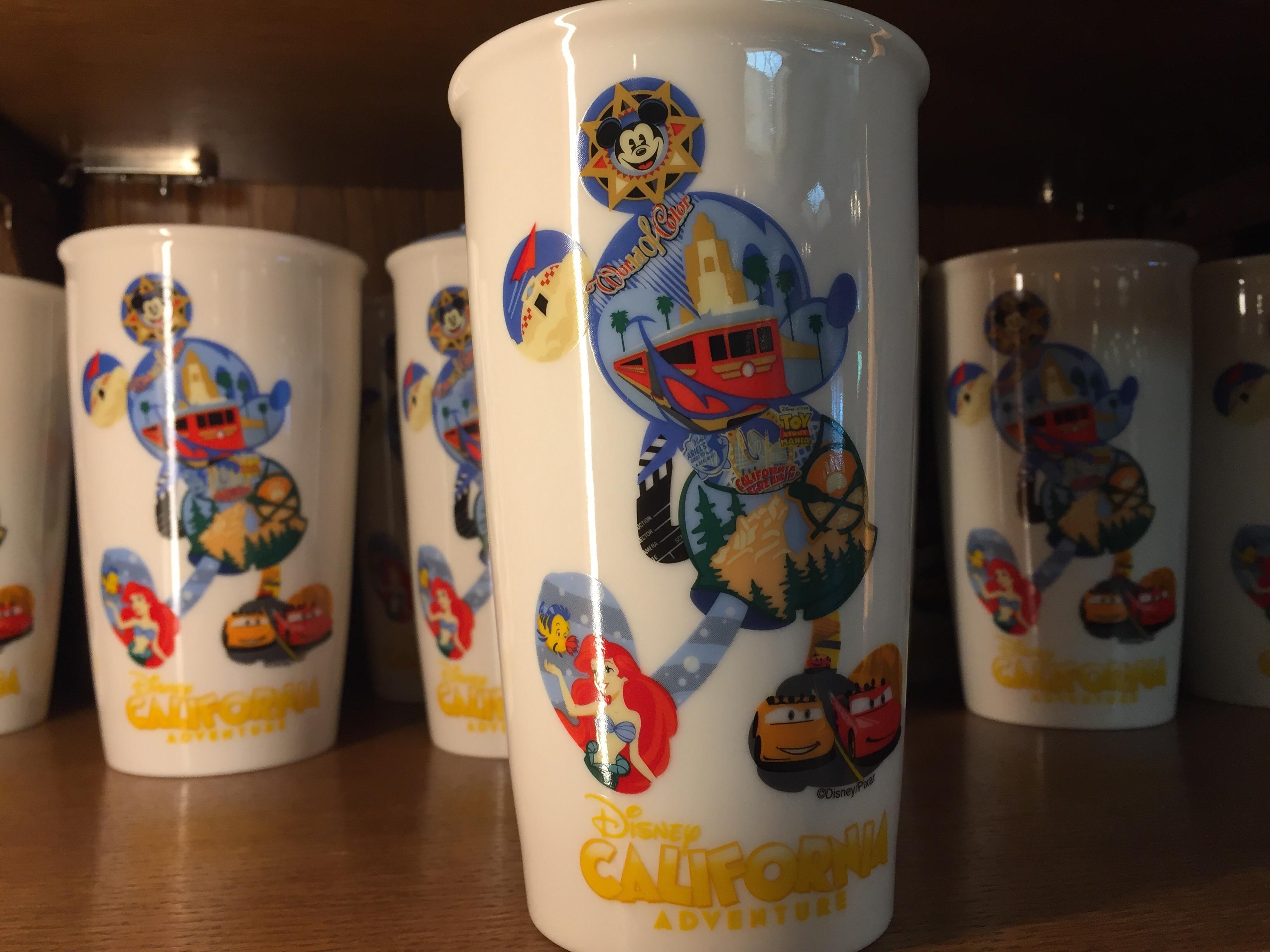 Photo New Ceramic Disney California Adventure Tumbler