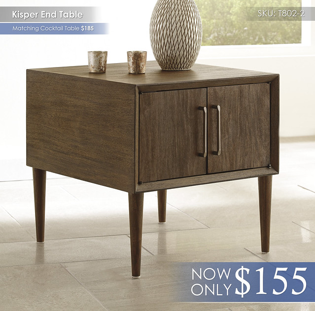 Kisper End Table T802-2