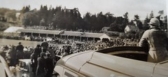 Watching the Braemar Gathering from the top of a bus early 1930s