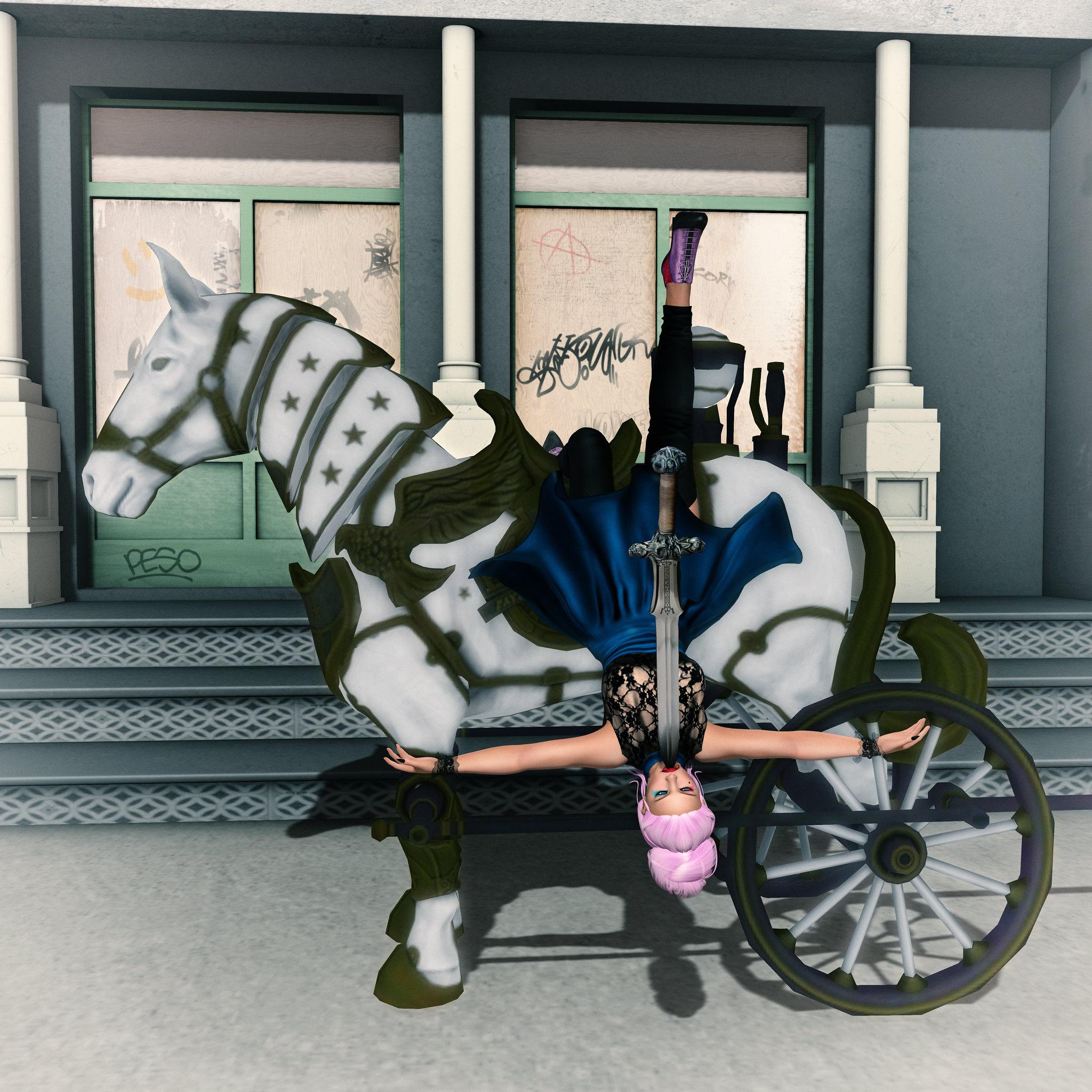 Dark Horse Rider, SN @ Mad Circus